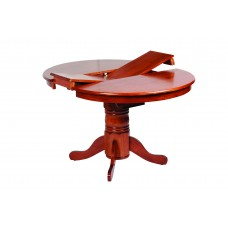 Jaguar Round Single Pedestal Extension Dining Table